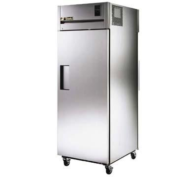 True TA1RPT-1S-1G Pass Thru Refrigerator, Solid Front, Glass Rear Doors, 31-cu ft
