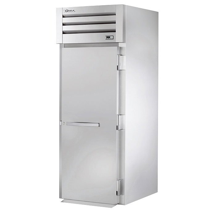 "True STA1RRI89-1S 35"" Roll-In Refrigerator - 1-Section, Solid Full Door, Stainless 115v"