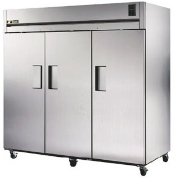 "True STA3R-3S 78"" Reach-In Refrigerato"