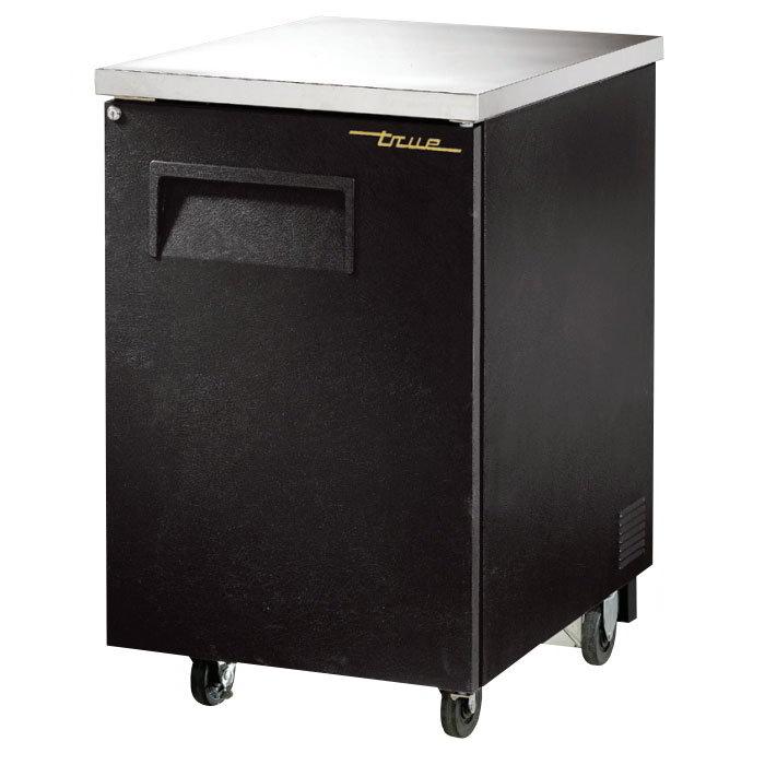 True TBB-1 23-1/2 in Back Bar Cooler 1 Section/Door 2 Shelves Restaurant Supply