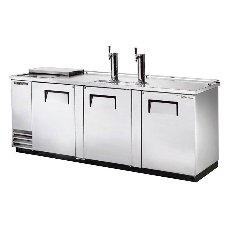 "True TDD-4CT-S 90.37"" Draft Beer System w/ (4) Keg Capacity - (2) Columns, Stainless, 115v"