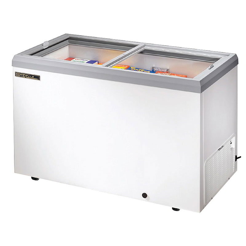 "True TFM-51FL BK 51.88"" Mobile Ice Cream Freezer"