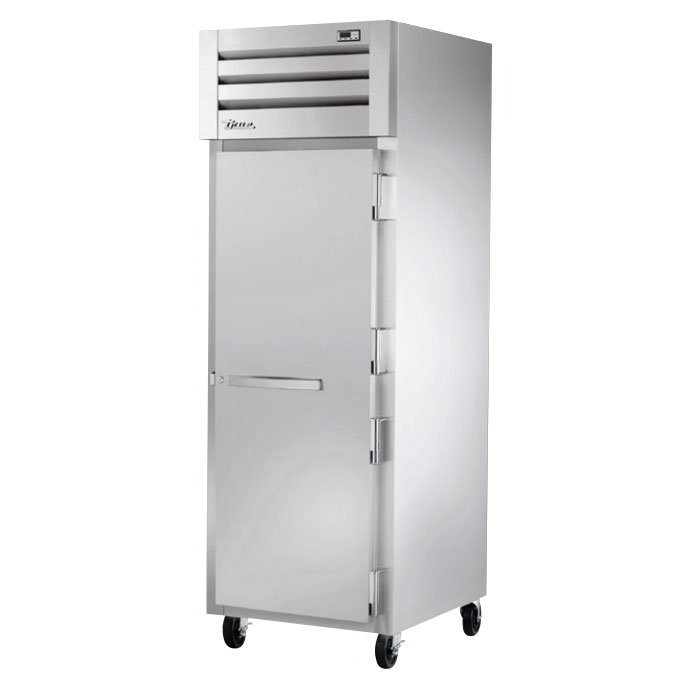 "True STG1H-1S 28"" Roll-In Freezer - 1-Solid Door, Stainless/Aluminum"