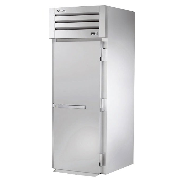 "True STG1RRI-1S 35"" Roll-In Refrigerator - 1-Solid Door, Stainless/Aluminum"