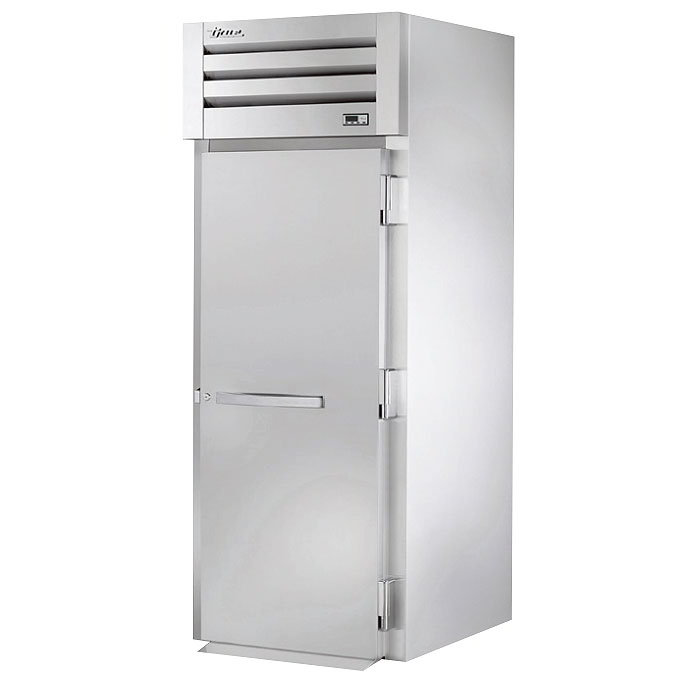"True STG1RRI89-1S 35"" Roll-In Refrigerator - 1-Solid Door, 89""H, Stainless/Aluminum"