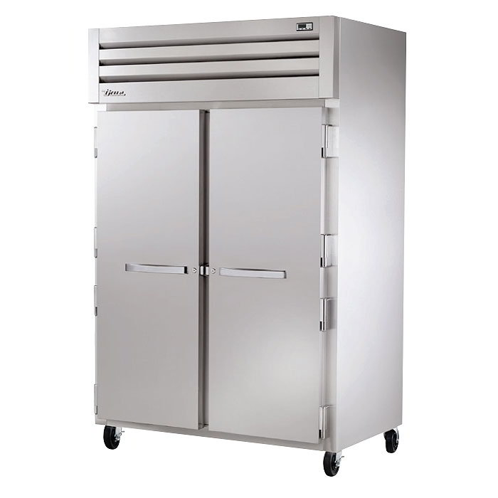 "True STG2H-2S 53"" Reach-In Heated Cabinet - 2-Solid Doors, Stainless/Aluminum"
