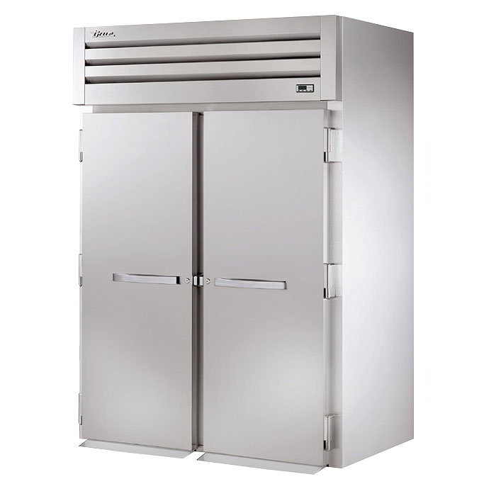 "True STG2HRI-2S 68"" Roll-In Heated Cabinet - 2-Solid Doors, Stainless/Aluminum"