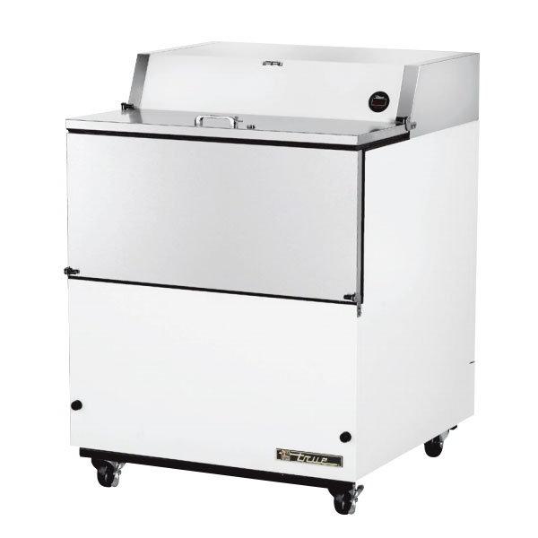 True TMC-34 8-Crate Milk Cooler - Side Lift Doors, 115v