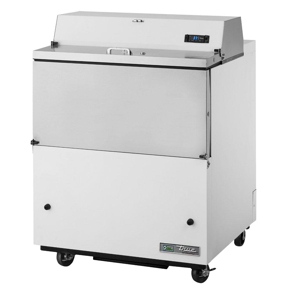 True TMC-34-DS 8-Crate Milk Cooler - Side Lift Doors, 115v