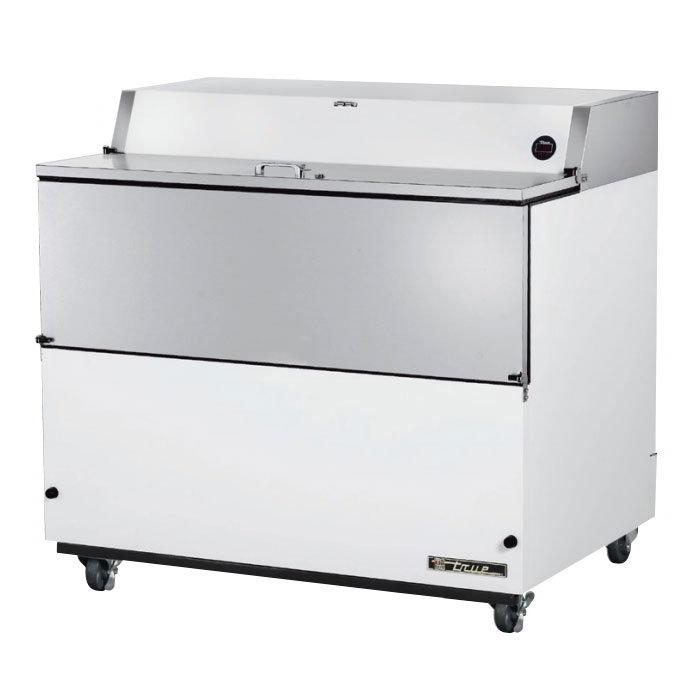 True TMC-49 12-Crate Milk Cooler - Side Lift Doors, 115v