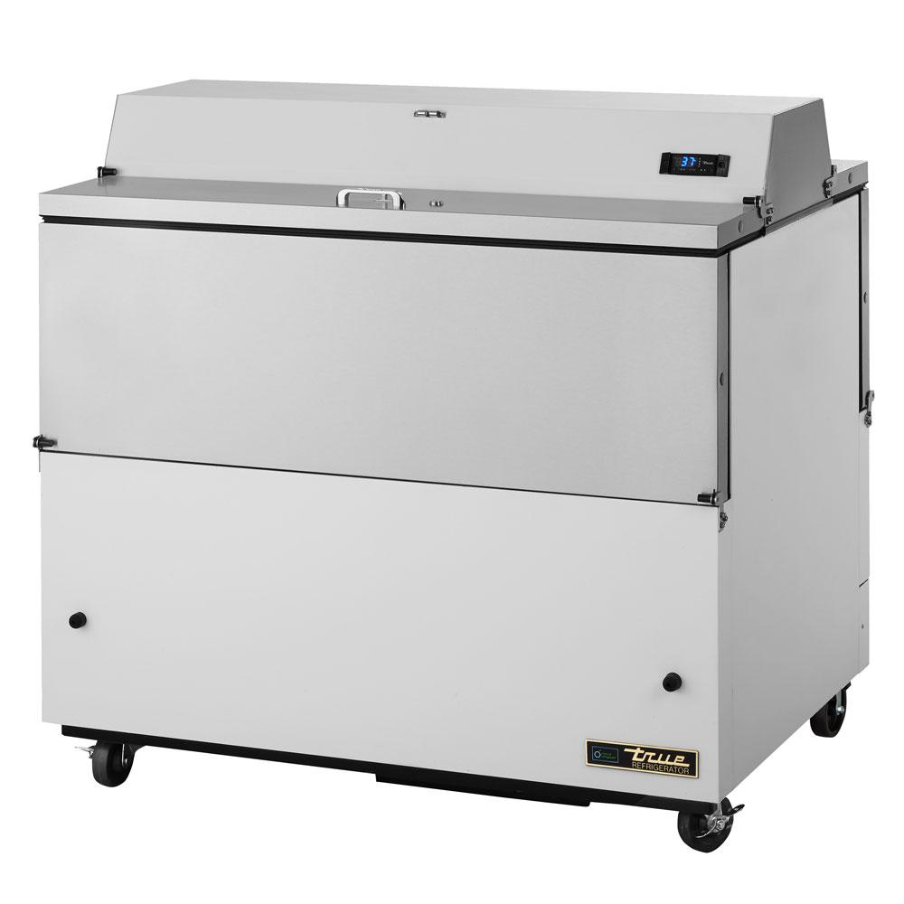 True TMC-49-DS-SS 12-Crate Milk Cooler - Side Lift Doors, 115v