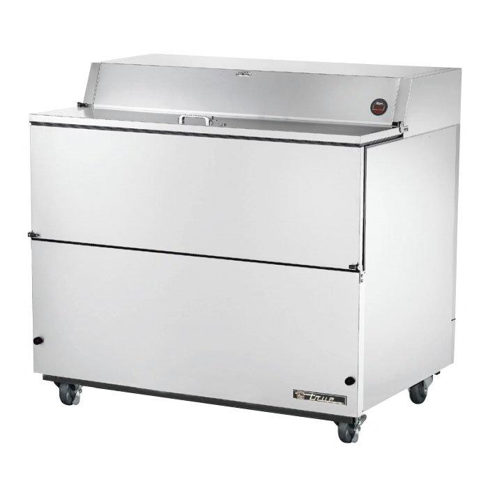 True TMC-49-S 12-Crate Milk Cooler - Side Lift Doors, 115v