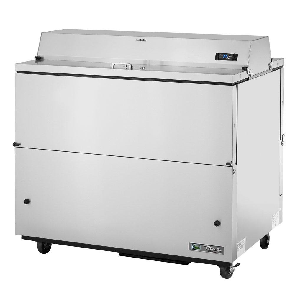 True TMC-49-S-DS 12-Crate Milk Cooler - Side Lift Doors, 115v