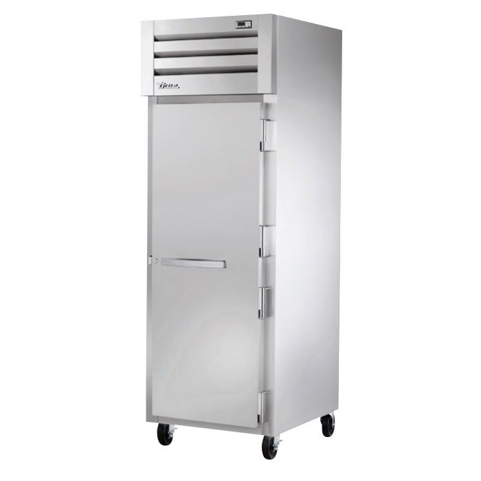 "True STR1H-1S 28"" Reach-In Heated Cabinet - 1-Solid Door, All Stainless"