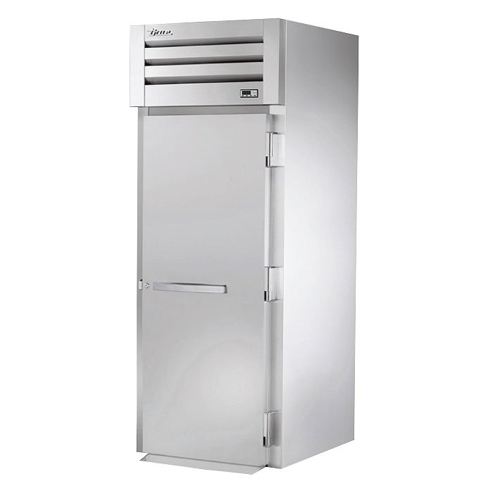 "True STR1RRI-1S 35"" Roll-In Refrigerator - 1-Solid Door, All Stainless"