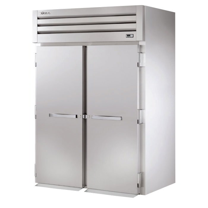 "True STR2RRI-2S 68"" Roll-In Refrigerator - 2-Solid Doors, All Stainless"