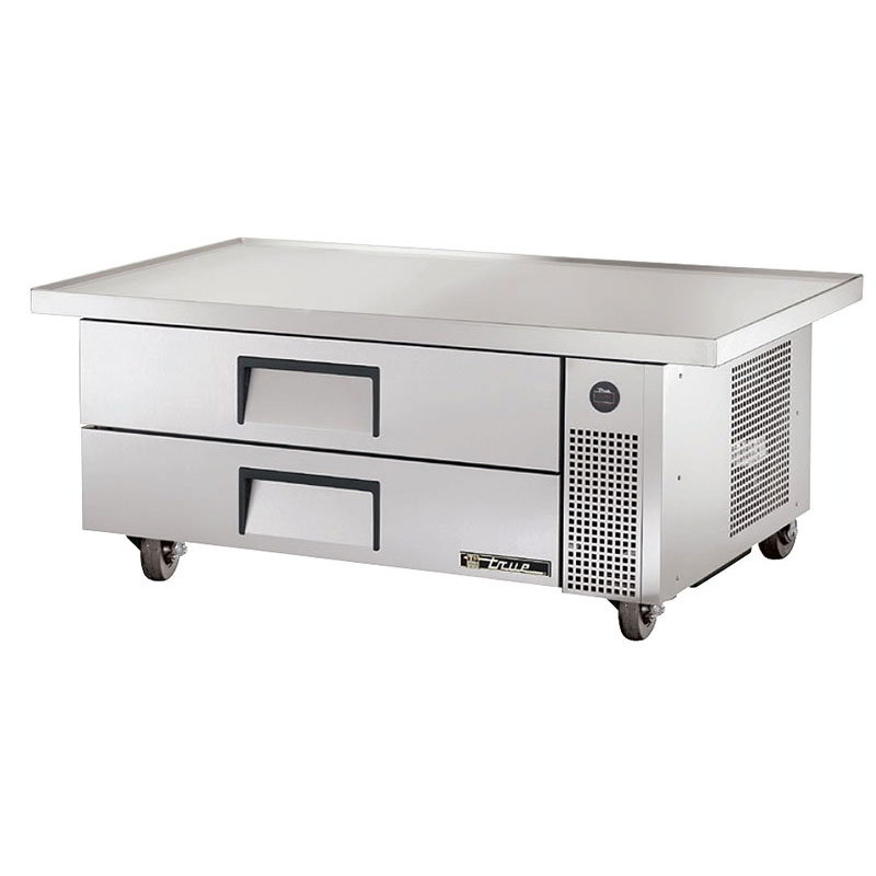 True TRCB-52-60 60 in Top Refrig Chef Base 1 Section 2 Drawers Restaurant Supply