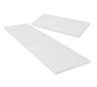 True 810863 Polyethylene Cutting Board, 46 in x 11-3/4 in for Use with Crumb Catcher 874618