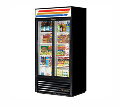 "True GDM-33-LD 39.5"" Refrigerated Merchandiser -"