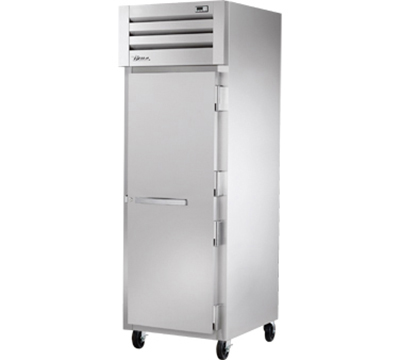 "True STG1R-1S 28"" Reach-In Refrigerator - 1-Solid Door, Stainless/Aluminum"
