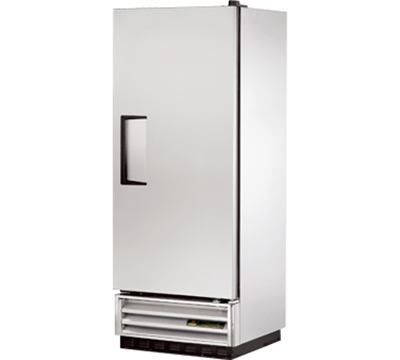 "True T-12F 25"" Reach-In Freezer - 1-Solid Door, Stainless/Aluminum"