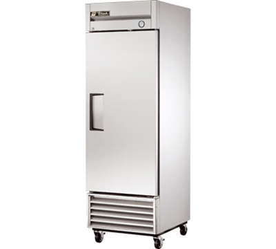 "True T-23 27"" Reach-In Refrigerator - 1-Solid Door, Stainless/Aluminum"