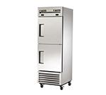 True T-23DT 19-cu ft One Section Commercial Refrigerator Freezer - Solid Doors, Bottom Compressor, 115v