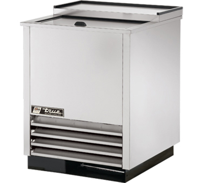 "True T-24-GC-S 25"" Glass/Plate Chiller - Holds (90) 8"" Mugs, Auto Defrost, Stainless"