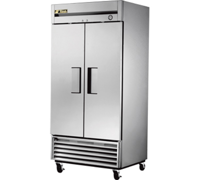 "True T-35F 40"" Reach-in Freezer - 2-Solid Doors, Stainless/Aluminum"