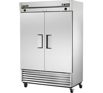 "True T-49DT 54"" Reach-In Refrigerator/Freezer - 2-Solid Doors, Stainless/Aluminum"