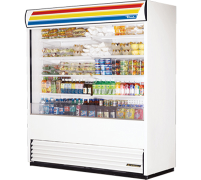 "True TAC-72 72"" Vertical Air Curtain Merchandiser"