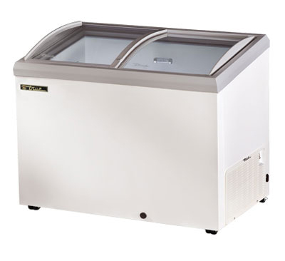 "True TFM-51AL 51.25"" Mobile Ice Cream Freezer, 115v"