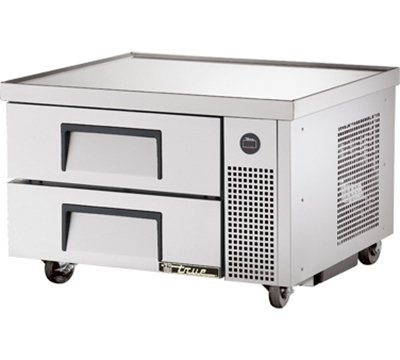 "True TRCB-36 36"" Refrigerated Chef Base - 6-Drawers, Aluminum/Stainless"