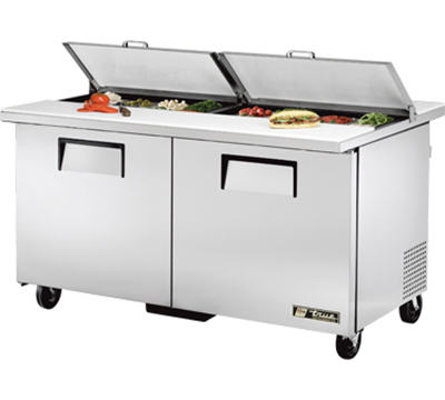 "True TSSU-60-16-DS-ST 60"" Dual Side Sandwich Unit - Hol"