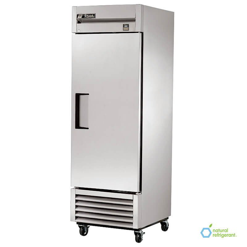 "True TS-23F LH 27"" Reach-In Freezer - 1-Left Hinged Solid Door, All Stainless"