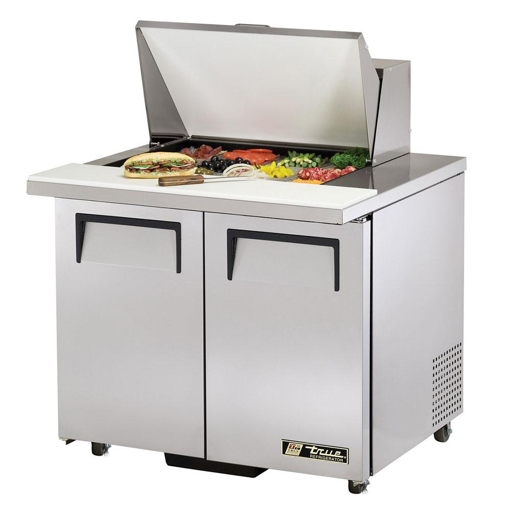 """True TSSU-36-12M-BADA 36.38"""" Sandwich/Salad Prep Table w/ Refrigerated Base, 115v"""