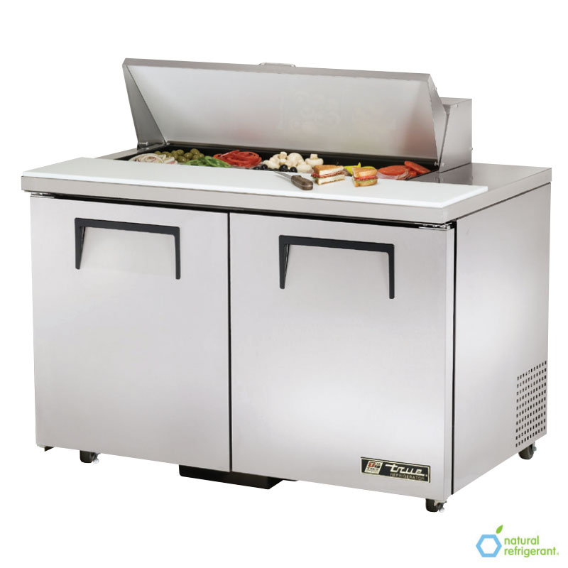 """True TSSU-48-10-ADA 48.38"""" Sandwich/Salad Prep Table w/ Refrigerated Base, 115v"""
