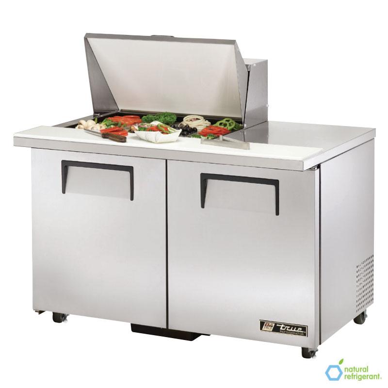 """True TSSU-48-12M-BADA 48.38"""" Sandwich/Salad Prep Table w/ Refrigerated Base, 115v"""