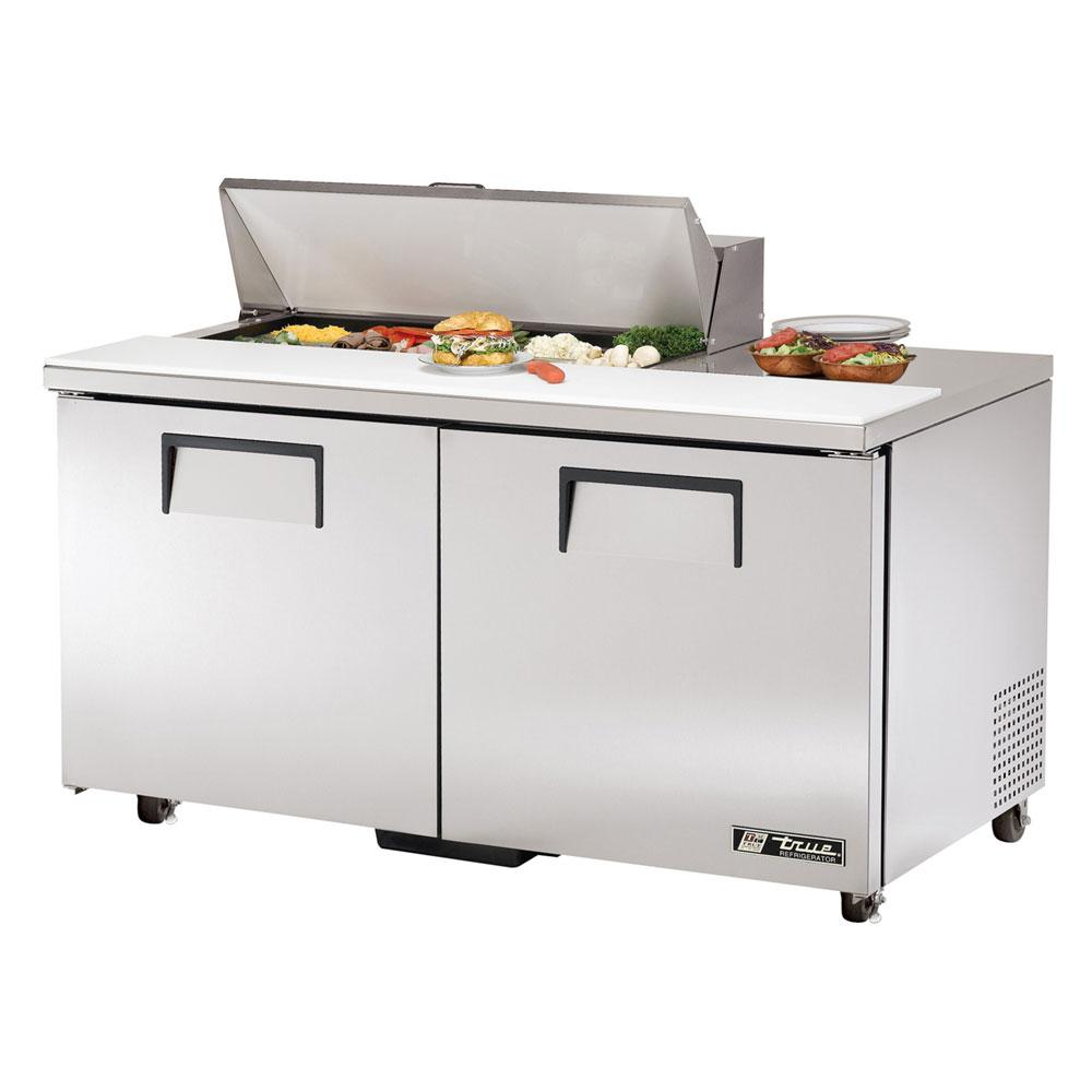 """True TSSU-60-10-ADA 60.38"""" Sandwich/Salad Prep Table w/ Refrigerated Base, 115v"""