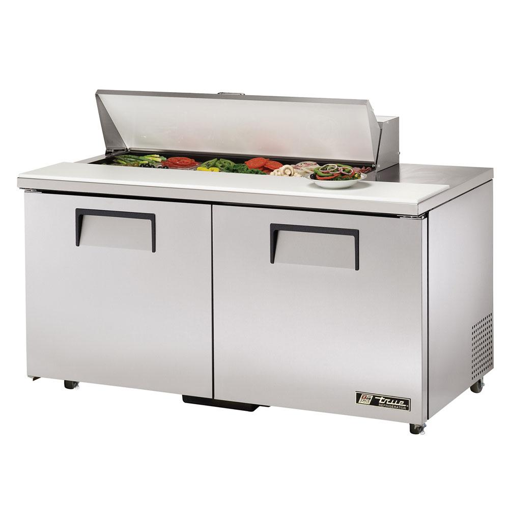 """True TSSU-60-12-ADA 60.38"""" Sandwich/Salad Prep Table w/ Refrigerated Base, 115v"""