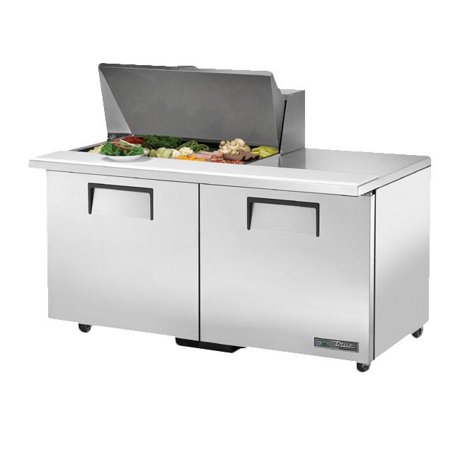 """True TSSU-60-15M-BADA 60.38"""" Sandwich/Salad Prep Table w/ Refrigerated Base, 115v"""