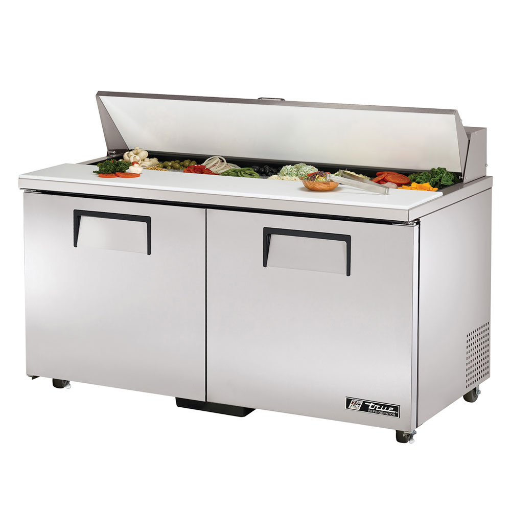 "True TSSU-60-16-ADA 60.38"" Sandwich/Salad Prep Table w/ Refrigerated Base, 115v"
