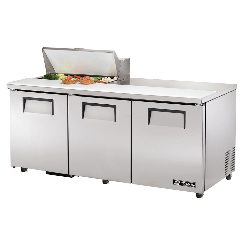 """True TSSU-72-8-ADA 72.38"""" Sandwich/Salad Prep Table w/ Refrigerated Base, 115v"""