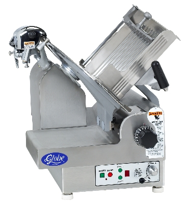 Globe 3850P Automatic Slicer w/ 13-in PreciseEdge Knife, Antimicrobial