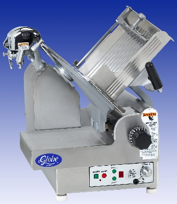 Globe 3975P Automatic Slicer w/ 13-in Knife & 9-Speed, Antimicrobial