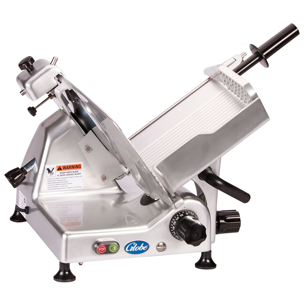Globe G12 Medium Duty Manual Slicer, 12 in Knife, 1/2 HP, 115 V