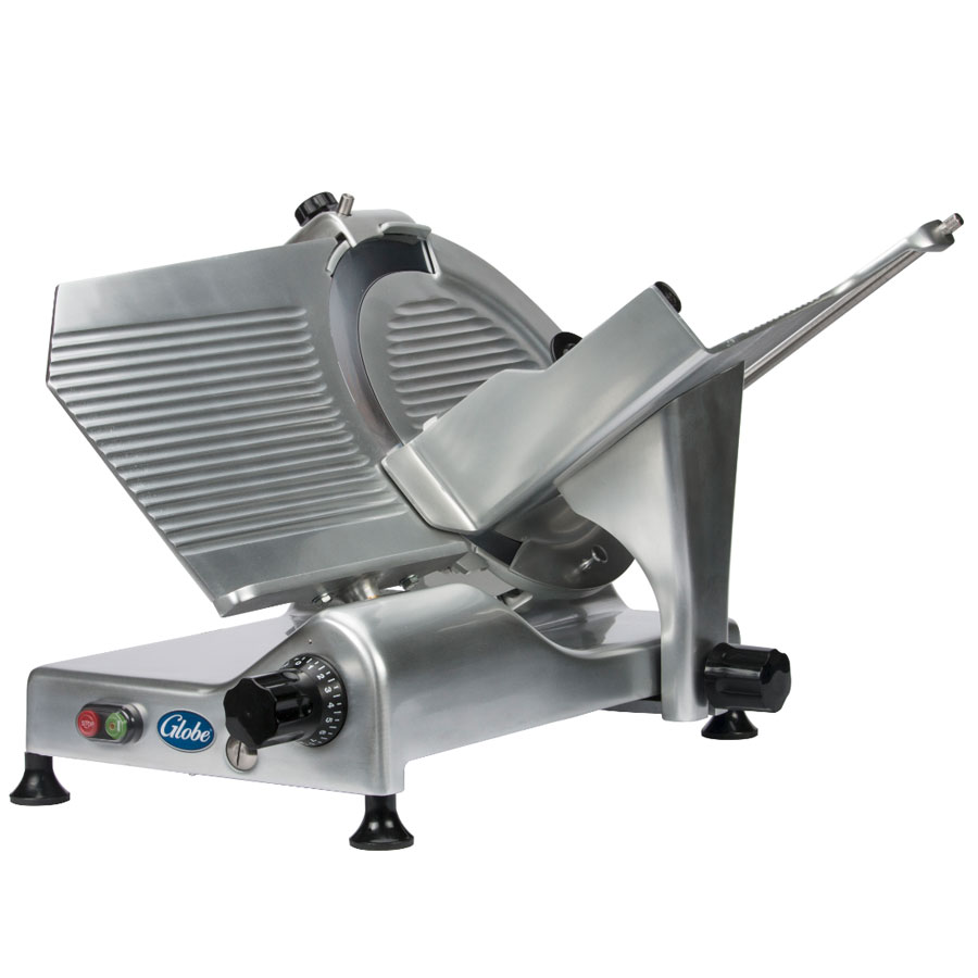 Globe G14 14-in Medium Duty Manual Slicer, Belt Driven, 115 V