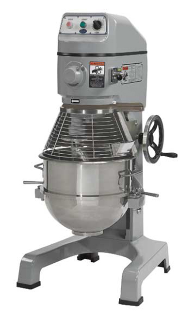Globe SP40 220 40-qt Floor Model Planetary Mixer w/ Stainless Bowl, 3-Speed, 220/1 V