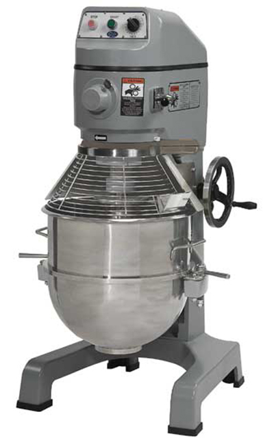 Globe SP60 220 60-qt Floor Model Planetary Mixer w/ Stainless Bowl, 3-Speed, 220/1 V