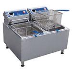 32 lb Countertop Fryer w/ Dual Tanks, (2) 208/240 V